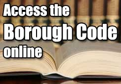 access the Borough Code online